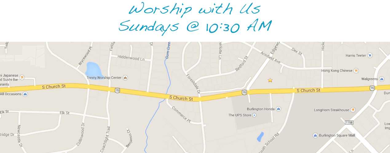 Get Directions to our Church!